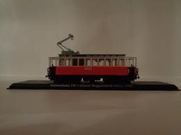 TRAMWAY  MOTRICE STUBAITAL Tw1 ( GRAZER WAGGONFABRIK/AEG ) INNSBRUCK 1904  -1/43 Avec Notice - Voitures, Camions, Bus