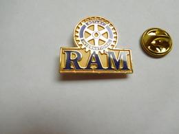 Beau Pin's En EGF  , Association , RAM , Rotary International - Associations