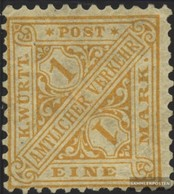 Württemberg D207 Usato 1881 I Numeri In Segni - Wurtemberg