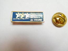 Beau Pin's , Association , Fédération Des Familles De France De L' Eure - Associations