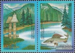 Ukraine 302-303 Couple (complete.issue.) Unmounted Mint / Never Hinged 1999 National - Ukraine
