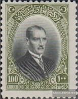 Türkei 855 Con Fold 1926 Francobolli - 1921-... Republik