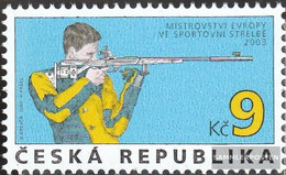 Czech Republic 361 (complete Issue) Unmounted Mint / Never Hinged 2003 Shooting - Czech Republic