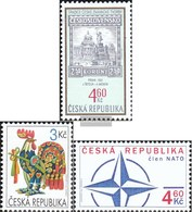Czech Republic 203,211,212 (complete Issue) Unmounted Mint / Never Hinged 1999 Philately, Easter, NATO - Unused Stamps
