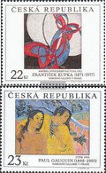 Czech Republic 190-191 (complete Issue) Unmounted Mint / Never Hinged 1998 PRAGA - Unused Stamps