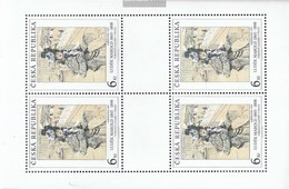 Czech Republic 96Klb-98Klb Sheetlet (complete Issue) Unmounted Mint / Never Hinged 1995 Art - Unused Stamps