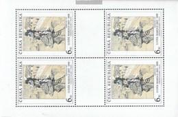 Czech Republic 96Klb-98Klb Sheetlet (complete Issue) Unmounted Mint / Never Hinged 1995 Art - Tschechische Republik