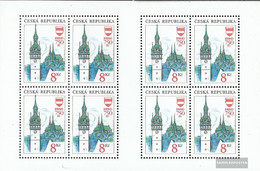 Czech Republic 9Klb Sheetlet (complete Issue) Unmounted Mint / Never Hinged 1993 Home - Unused Stamps