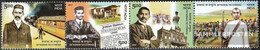 India 2226-2229 Quad Strip (complete Issue) Unmounted Mint / Never Hinged 2007 Gandhi - India