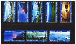 LVT405 UNO NEW YORK 2003 MICHL 932/33 + 934/39 ** Postfrisch Siehe ABBILDUNG - New York -  VN Hauptquartier