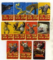 Lot De 11 Cartes Kung Fu Panda Dreamworks Nestle - Non Classificati