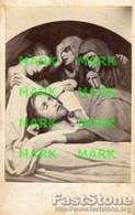 Santino Antico LES SAINTES FEMMES AU TOMBEAU DU CHRIST (489. Ary Scheffer.) - OTTIMO P74 - Religion & Esotericism