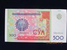 500 Roubles OUZBEKISTAN 1999, Neuf, N'a Pas Circulé - Ouzbékistan
