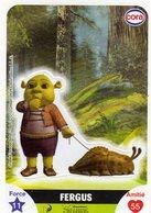 Vignette Cora Le Collector Dreamworks Shrek 100/112 - Stickers