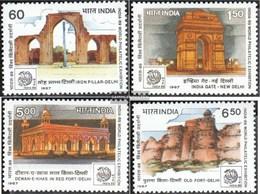 Indien 1116-1119 (completa Edizione) MNH 1987 Filatelia - Nuovi