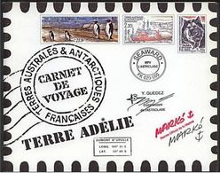 "TAAF Carnet Prestige YT C308 "" Carnet De Voyages (308 à 321) "" 2001 Neuf** - Booklets"