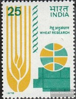 India 752 (complete Issue) Unmounted Mint / Never Hinged 1978 Wheat - Nuovi