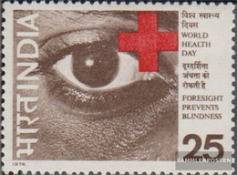 India 671 (complete Issue) Unmounted Mint / Never Hinged 1976 Health - India