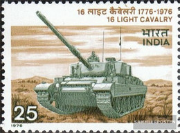 India 668 (complete Issue) Unmounted Mint / Never Hinged 1976 Cavalry - India