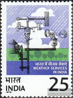 India 662 (complete Issue) Unmounted Mint / Never Hinged 1975 Meteorology - India