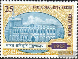 India 659 (complete Issue) Unmounted Mint / Never Hinged 1975 Druckerei - India