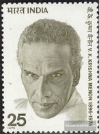 India 652 (complete Issue) Unmounted Mint / Never Hinged 1975 Menon - India