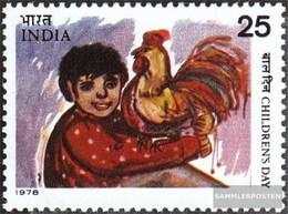 Indien 774 (kompl.Ausg.) Postfrisch 1978 Kinder - Inde