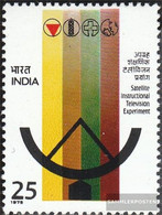 India 641 (complete Issue) Unmounted Mint / Never Hinged 1975 Satellite TV - India