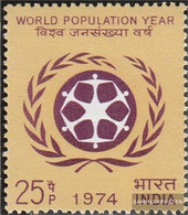 India 598 (complete Issue) Unmounted Mint / Never Hinged 1974 Population - India