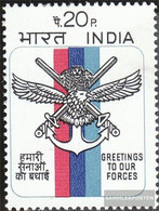 India 541 (complete Issue) Unmounted Mint / Never Hinged 1972 National Defense - India