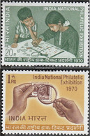 India 514-515 (complete Issue) Unmounted Mint / Never Hinged 1970 Philately - India