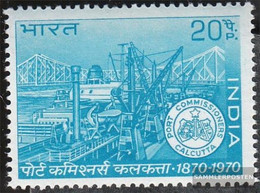 India 508 (complete Issue) Unmounted Mint / Never Hinged 1970 Hafenbehörde - India