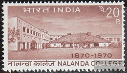 India 495 (complete Issue) Unmounted Mint / Never Hinged 1970 College - India