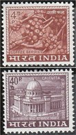 India 451-452 (complete Issue) Unmounted Mint / Never Hinged 1968 Landesmotive - Unused Stamps