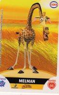 Carte Cora Le Collector Dreamworks Madagascar 34/112 - Non Classificati
