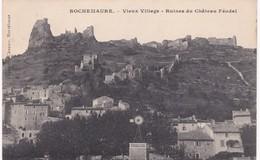 07 Ardèche - ROCHEMAURE - Vieux Village - Ruines Du Château Féodal - Rochemaure