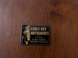 Autocollant école Des Antiquaires Toulon - Stickers