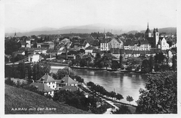 Aarau Mit Der Aare - 1929 - AG Argovie