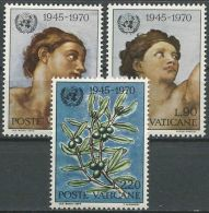 VATIKAN 1970 Mi-Nr. 569/71 ** MNH - Nuovi