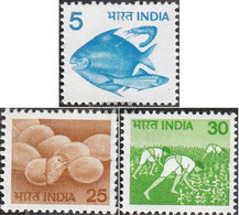 India 792-794 (complete Issue) Unmounted Mint / Never Hinged 1979 Agriculture - India