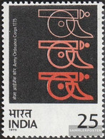 India 621 (complete Issue) Unmounted Mint / Never Hinged 1975 Artillery - India