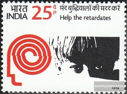 India 614 (complete Issue) Unmounted Mint / Never Hinged 1974 Children - India