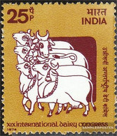 India 613 (complete Issue) Unmounted Mint / Never Hinged 1974 Milch - India