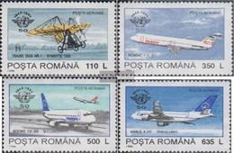 Rumänien 5013Y-5016Y (completa Edizione) MNH 1994 Dell'aviazione Civile - 1948-.... Repubbliche