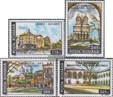 Rumänien 4950-4953 (completa Edizione) MNH 1994 Distrutti Storico.Strutture - 1948-.... Republiken