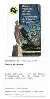 Vaticano - Urmet - Radio Vaticana - Nuova - Validità 1.1.2000 - (FDC12013) - Vaticano