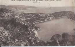 06 - Roquebrune Et Cap Martin - Route De La Corniche - Circulé En 1925 - BE - Roquebrune-Cap-Martin