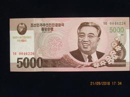 5000 Won CORÉE DU NORD 2008, Neuf, N'a Pas Circulé - Corée Du Nord