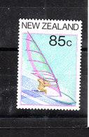 Nuova Zelanda   - 1987. Windsurf. MNH - Vela