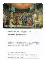 Vaticano - Urmet - Palazzo Apostolico - G. Muziano - Nuova - Validità 1.5.2000 - (FDC12015) - Vaticano